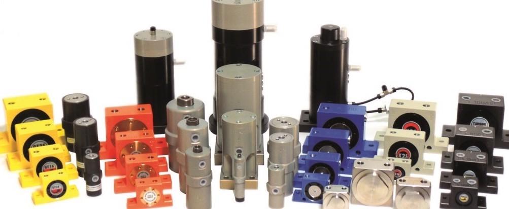 Exemples de vibrateurs pneumatiques CASADIO